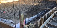 rebar for structural slab in place