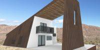 rendering of outdoor living room